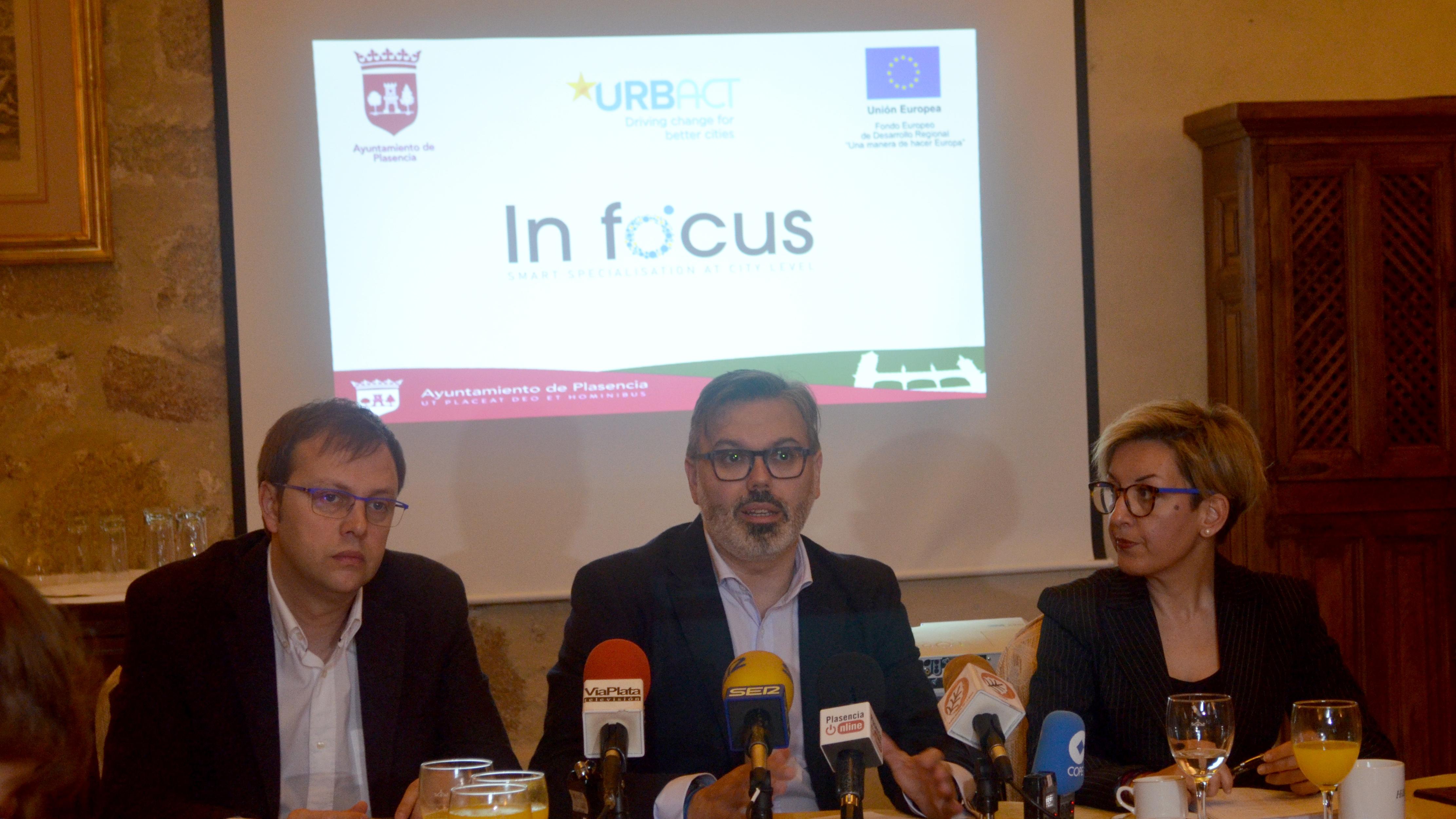 Plasencia pone al alcance de los ciudadanos el Plan de Acción Integrado, resultado de su trabajo en la red IN FOCUS-URBACT