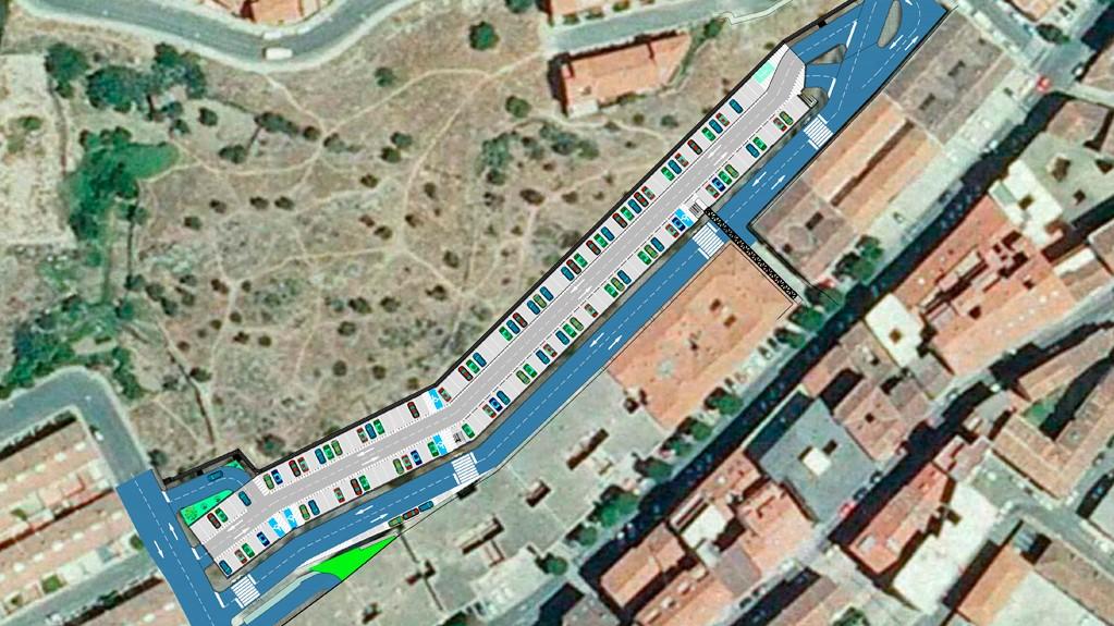 La Diputación de Cáceres adjudica la construcción del aparcamiento público de 302 plazas en la calle Velázquez de Plasencia