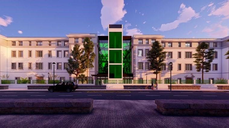 El Ayuntamiento de Plasencia presenta a la ciudad el proyecto de la residencia geriátrica de los pabellones militares, financiada con cargo al FEDER-DUSI
