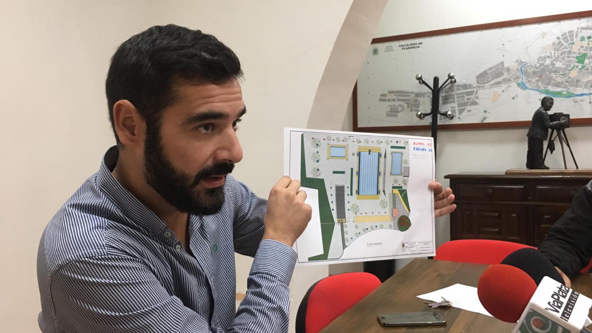 El Ayuntamiento de Plasencia adjudica la reforma de la piscina municipal con cargo al proyecto URBANSOL (INTERREG-POCTEP)