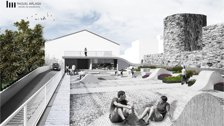 Sale a licitación el nuevo aparcamiento de la calle Eulogio González de Plasencia, financiado por el FEDER-DUSI