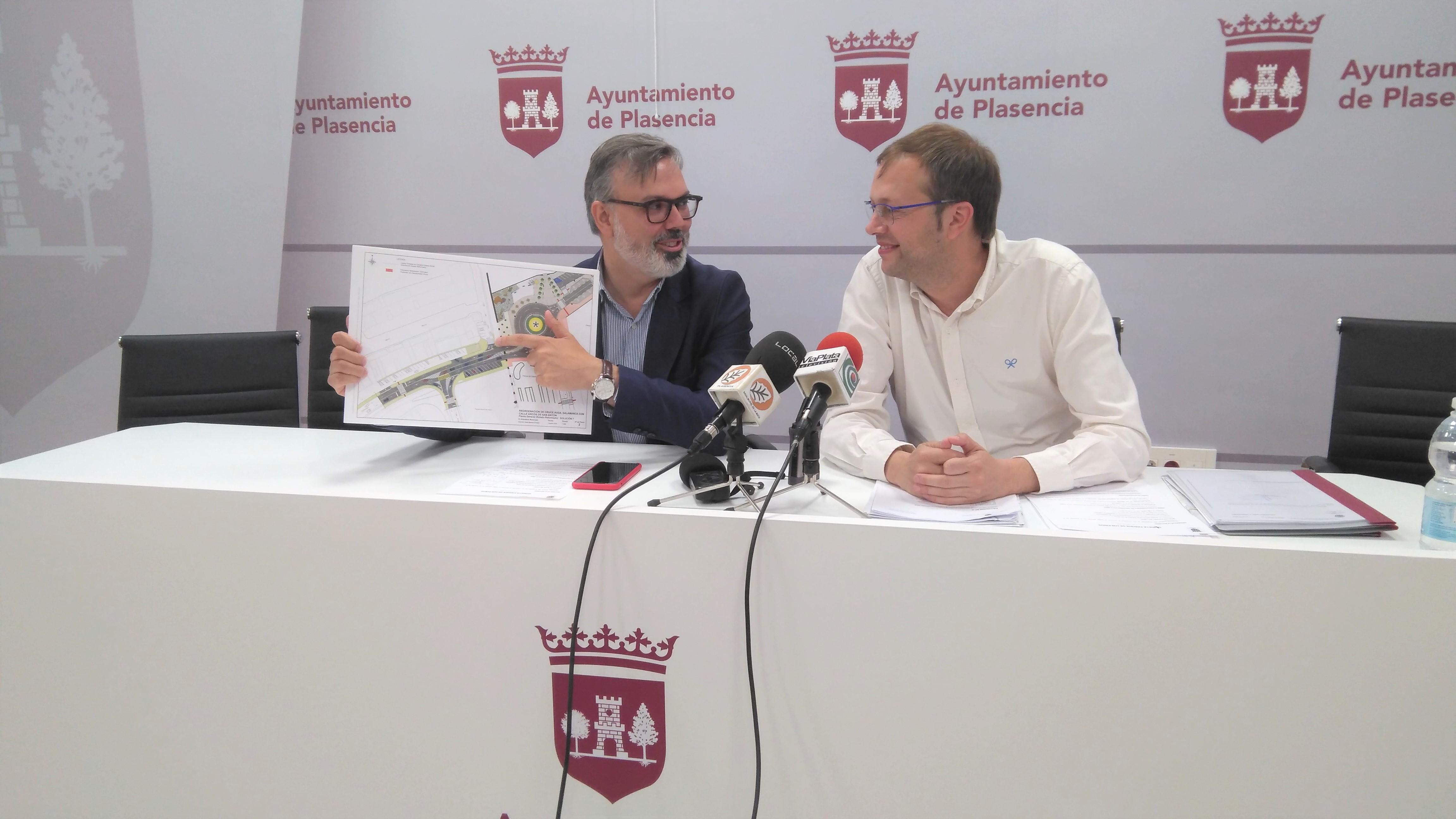 La nueva glorieta sufragada con los fondos europeos FEDER-DUSI estará dedicada al colectivo de Enfermería
