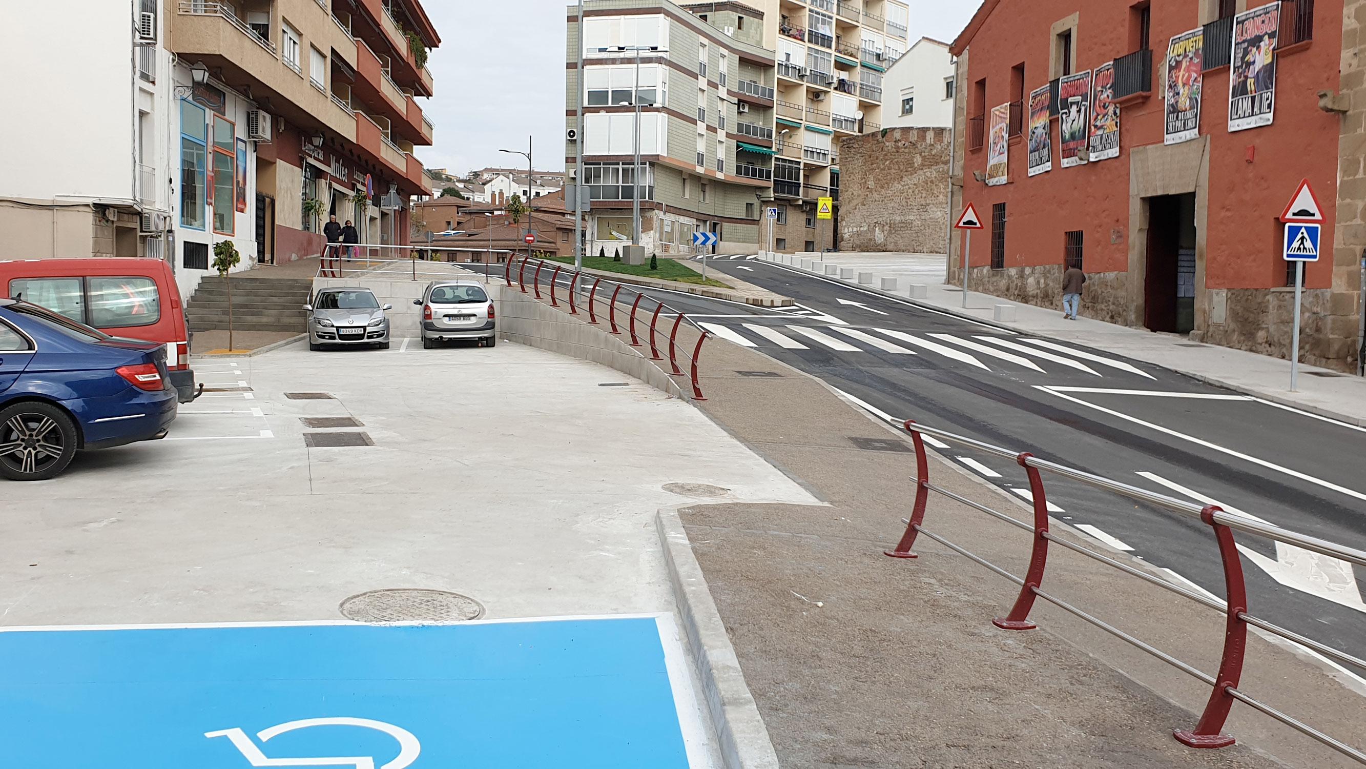 La Puerta Berrozana de Plasencia luce ya su nuevo aspecto tras las obras de adecuación financiadas por los fondos europeos FEDER-DUSI