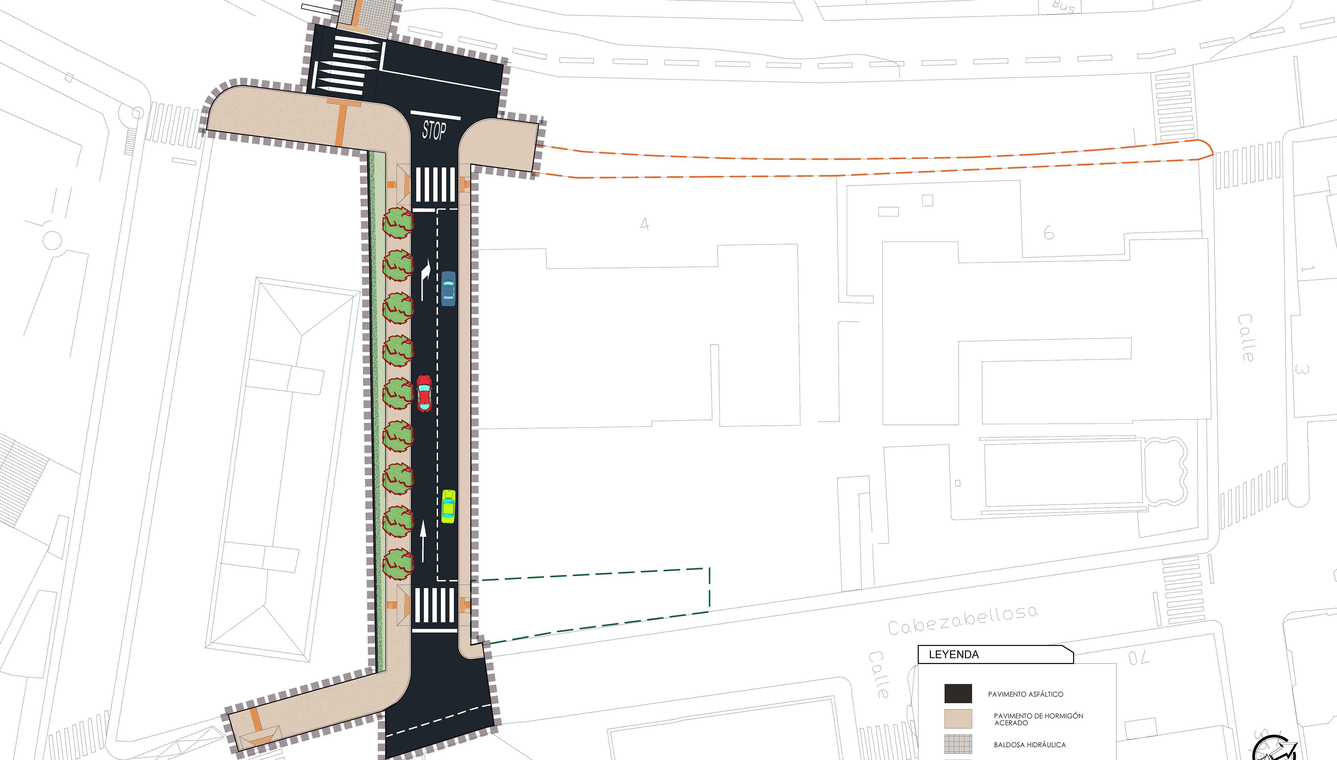 Luz verde a la creación de un nuevo vial en Plasencia, sufragado por el FEDER-DUSI